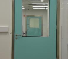 Dortek GRP Door Hallway Green