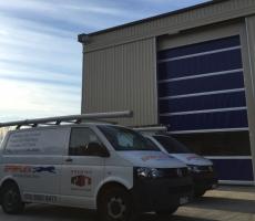 Rapid Roll Door Service Vans