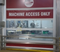 Rapid Door RED Machine Access