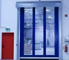 Srt Cr Clean Room High Speed Roll Up Door Premier Doors