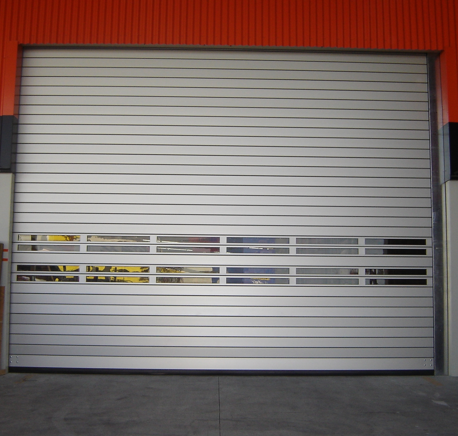 SST Classic High Speed Spiral Door