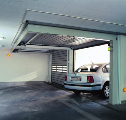 SST - Low Header Car Park High Speed Spiral Door