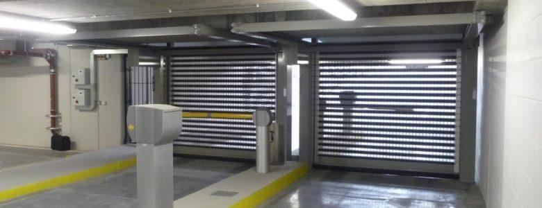 carpark door